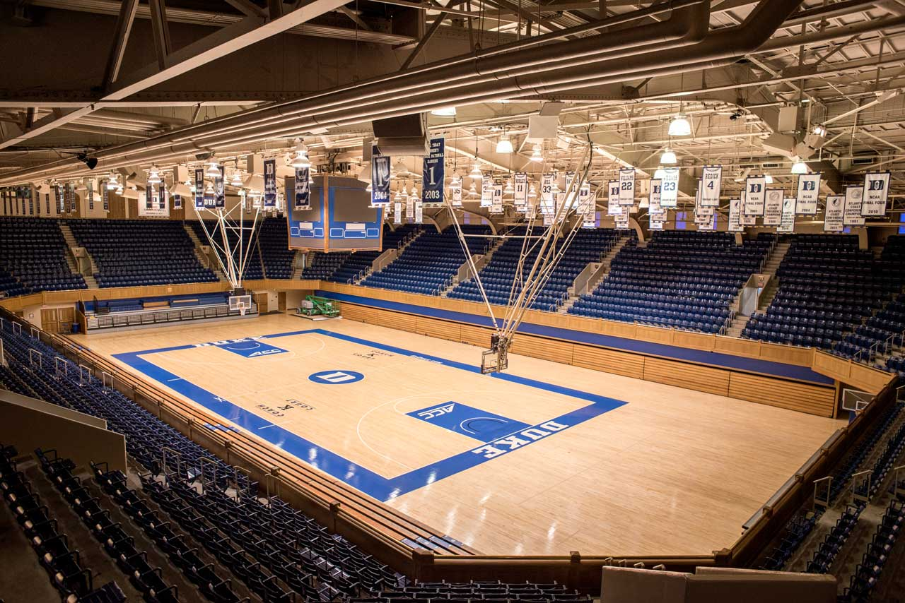 Cameron Indoor Stadium Seating Capacity Awesome Home