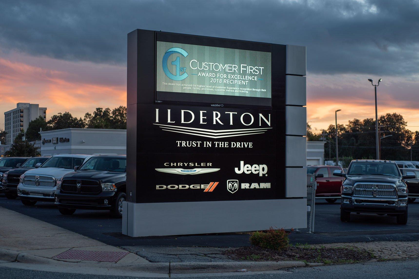 project stories ilderton dodge chrysler jeep ram high point nc atlantic sign media inc. Black Bedroom Furniture Sets. Home Design Ideas